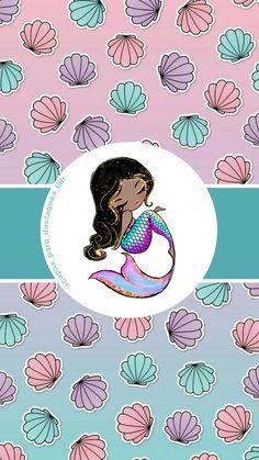 Moana, Instagram, Wallpaper, Cape Clothing, Watercolor Sunflower, Disney Phone Wallpaper, Advertising Ideas, Mermaids, Noel