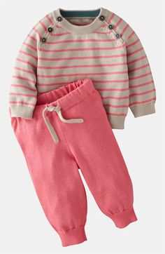 Mini Boden Sweater & Pants (Infant) available at #Nordstrom