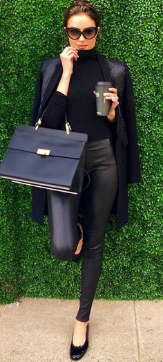 all black outfit inspo