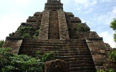 Inca pyramid