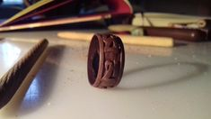 OM MANI PEME HUNG mantra ring by Belgamo.deviantart.com on @DeviantArt