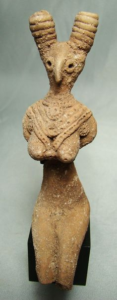 Indus Valley, Mohenjo-Daro Goddess Figure, c. 2700