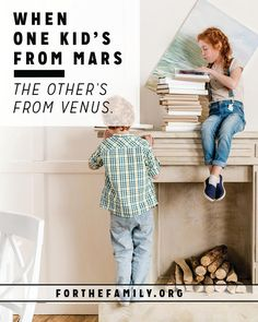 Are you raising children who are opposites? Even with profound differences, you can still help cultivate their friendship at home. Here are a few ideas to try! Parenting Articles, Parenting Books, Parenting 101, Christian Families, Christian Women, Raising Godly Children, Book Writer, Parent Resources, Christian Parenting