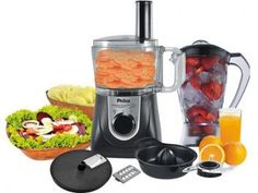 Multiprocessador Philco All In One + PR Citrus - 2 Velocidades Pulsar 800W