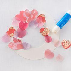 Create Fluttering-Heart Wreath