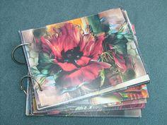 Photo album. Flower. A5.