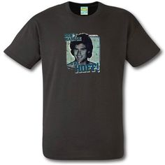 "Accessoryo Men's ""Don't Hassle the Hoff"" Print Cotton T-Shirt Medium (M) Grey"