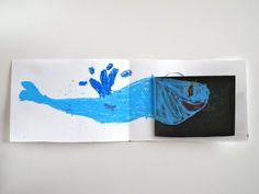 Haciendo un libro álbum...L'Aeroplano di Biscotto: la balena mangiona