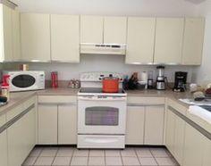 80's Laminate Cabinet Kitchen Update Advice - Houzz