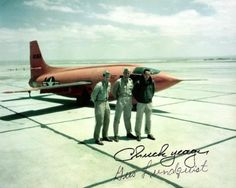 Chuck Yeager and the Bell X-1.