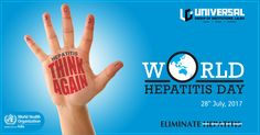 Join the world this World Hepatitis Day to raise voice on this global & extend support to researchers all over the world to encourage them to develop vacancies and medicines to eradicate Hepatitis from the world.