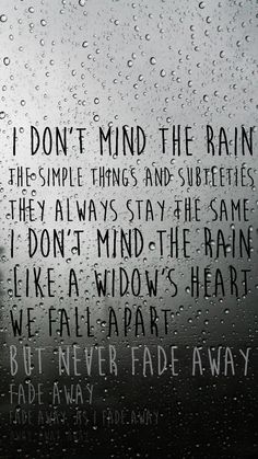 Hollywood undead - Rain lyrics
