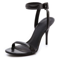 Alexander Wang Antonia Ankle Strap Sandals (4 080 SEK) ❤ liked on Polyvore