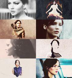 Katniss Everdeen the girl on fire #Catching #Fire