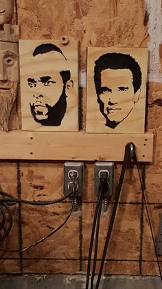 Scroll saw Mr T. And Arnold
