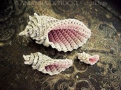 Crochet Conch Shell and Starfish $4.26