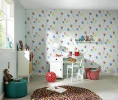 Jungle Theme Nursery, Girl Nursery Themes, Baby Boy Nurseries, Disney Kids Rooms, Yellow Kids Rooms, Baby Nursery Wallpaper, Purple Bedding, Baby Nursery Neutral, Crib Sets