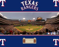 This is the Ballpark at Arlington, home of the Texas Rangers. My sons went to their very first professional baseball game here, with my sweet Daddy, who is not here anymore. It is a special place, a great ballpark, good nachos & a great way to spend an evening. During the day, broiling in the hot as hell Texas sun, not so much