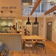 House Elevation, Studio Apartment, Store Design, Open House, Interior Design, Kitchen, Table, Room, Furniture