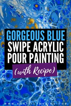 Learn how you can easily make cells in acrylic pouring and have fun at the same time. Check the acrylic pouring video and find out how to make fun in making beautiful cells using the simple swipe technique. #acrylicpouring #cells #swipetechnique #fluidart #fluidpainting #creativity #art #acrylicpainting #acrylicpourtechnique Acrylic Pouring Art, Using Acrylic Paint, Flow Painting, Pour Painting, Fluid Acrylics, Beginner Painting, Easy Paintings, Art Tips, Resin Art