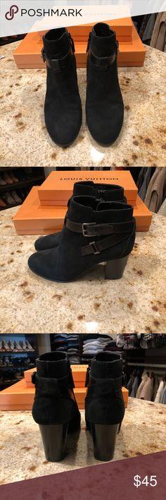 1a2ebd895756 Cole Haan suede booties Cole Haan suede black booties Cole Haan Shoes Ankle  Boots   Booties