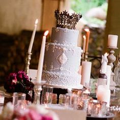 Cake and candles at Kenwood Inn!