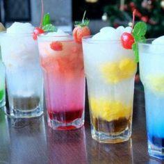 Fruit flavour lemonade
