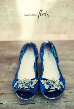 Wedding Shoes   Cobalt Blue Bridal Ballet Flats, Blue Wedding Flats, Blue  Flats With Ivory Lace. US Size 7 | Pinterest | Wedding Flats, Blue Bridal  And ...