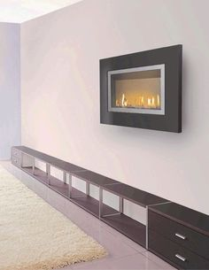 Flatfire direct vent gas fireplace.