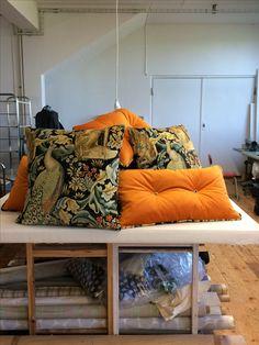 Specialmade cushions for Nääs Fabriker