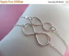 ON SALE SALE  Mother and Daughter Infinity by Jenalynscreations