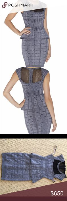 Herve Leger small New w Tags size small. Gun metal gray price firm unless using p Herve Leger Dresses Mini
