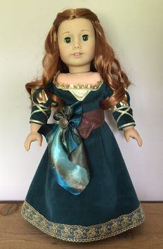 Merida from the movie Brave for American girl or by PerfectlyPams