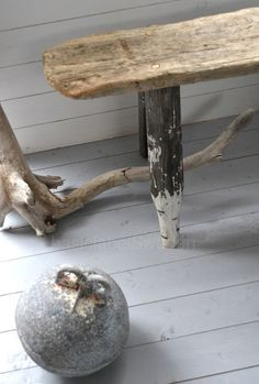 idea for table legs with existing posts in storage