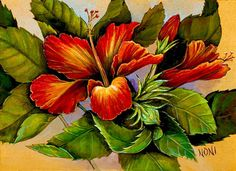 hawaiian art cast