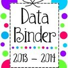 Here is a free collection of data sheets and a cover page to include in your reading binder.