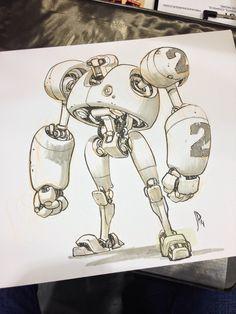 Jake Parker Sketchbook Dump