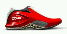 Motorsports footwear work for Fila Concepts and products for Ferrari, Ducati and Michael Schumacher franchises. Me Too Shoes, Men's Shoes, Shoe Boots, Shoes Sneakers, Sneakers Fashion, Fashion Shoes, Futuristic Shoes, Basket Sneakers, Outfits