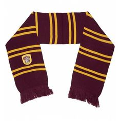 Harry Potter Gryffindor Scarf ($32) ❤ liked on Polyvore featuring accessories, scarves and harry potter