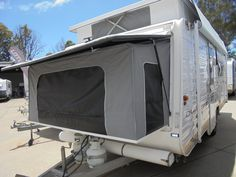 Pop Tops Galore at Gold Coast Caravan Saes Daewoo Microwave, Roll Out Awning, Dilly Dally, Leaf Spring, Cafe Style, Adventure Is Out There, Water Tank, Window Coverings, Gold Coast