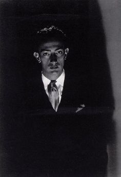 Salvador Dali by Man Ray, 1929