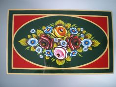 Scribe Traditional Signwriting and Decoration - Painted canal ware