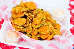 Fried pickles are the best!