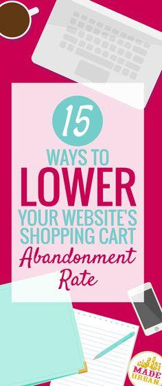 60% - 80% of online shoppers abandon their shopping carts. That means a whole lot of people thought about buying something but didn't have a strong enough feeling that the product was right for them or that they really needed it. Here's 15 ways to fix that.