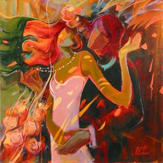 The Art of Irene Sheri Images D'art, Image Halloween, Image Nature, Couple Painting, Impressionist Art, Inspiration Art, Fashion Painting, Oil Painting Abstract, Cool Paintings