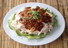 Traditional Chinese Recipes: Bang Bang Ji Si (Bang Bang Chicken)