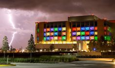 Nemours Children's Hospital in Orlando. Awesome picture.