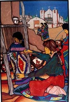 Amado Maurillo Pena Jr. Serigraph - 1995-1997