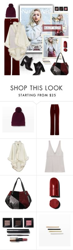 """""""Nation-Alist Magazine #Bullet Blues"""" by bulletblues ❤ liked on Polyvore featuring Club Monaco, Vanessa Bruno, Yummie by Heather Thomson, Pierre Hardy, Bobbi Brown Cosmetics and Bullet"""
