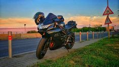 We love sunset colors!  #sunset #colors #motorcycle #instago  #motolife  #BerTTonSquad